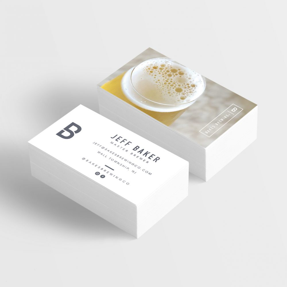 bakes business cards
