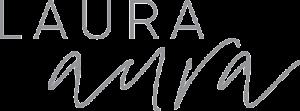 laura aura logo gray