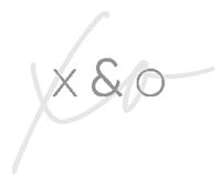 X&O Footer Logo
