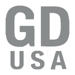 GD USA Logo Gray