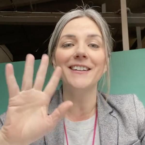 Amber waving