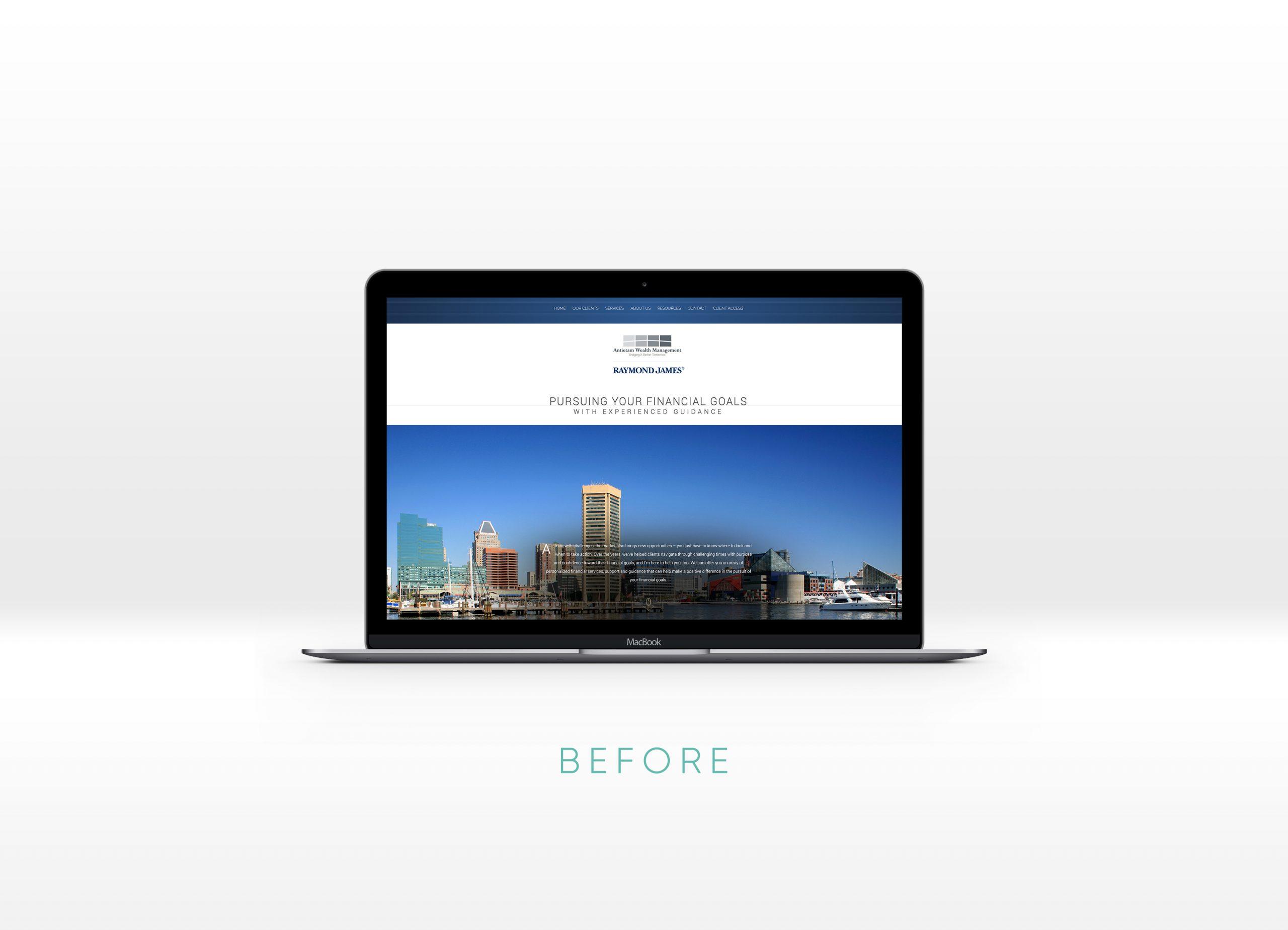 antietam wealth website before